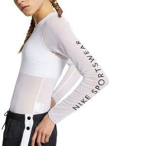 Nike Sportswear Mesh Bodysuit